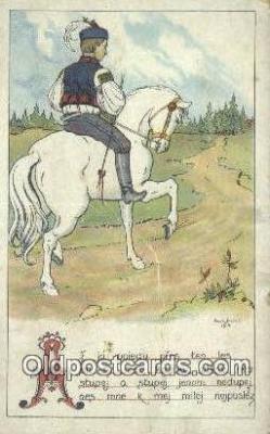 xrt283013 - Artist Konst Busek Postcard Post Card Old Vintage Antique Series # 1504