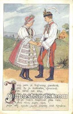 xrt283016 - Artist Konst Busek Postcard Post Card Old Vintage Antique Series # 555