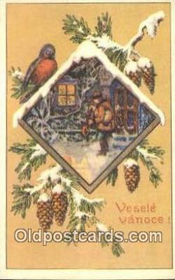 xrt283018 - Artist Konst Busek Postcard Post Card Old Vintage Antique
