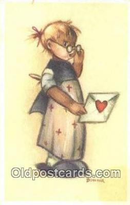 xrt284005 - Artist Bonnie Postcard Post Card Old Vintage Antique Series # 569