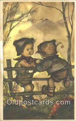 xrt284007 - Artist Bonnie Postcard Post Card Old Vintage Antique Series # 677