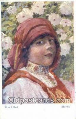 xrt285011 - Artist Rud Cerny Postcard Post Card Old Vintage Antique Series # 101-6