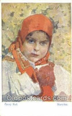 xrt285012 - Artist Rud Cerny Postcard Post Card Old Vintage Antique Series # 101-5