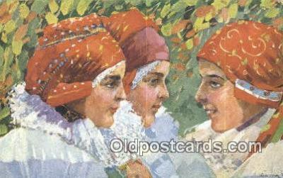 xrt285032 - Artist Rud Cerny Postcard Post Card Old Vintage Antique Series # 675-3