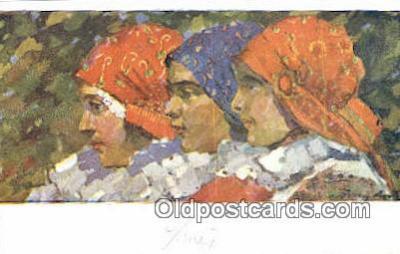 xrt285033 - Artist Rud Cerny Postcard Post Card Old Vintage Antique Series # 236