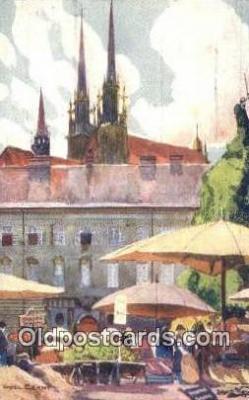 xrt286001 - Artist Karel Cerny Postcard Post Card Old Vintage Antique Series # 2090