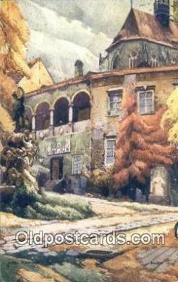 xrt286005 - Artist Karel Cerny Postcard Post Card Old Vintage Antique Series # 2096