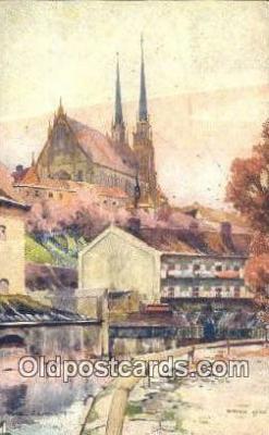 xrt286006 - Artist Karel Cerny Postcard Post Card Old Vintage Antique Series # 2094