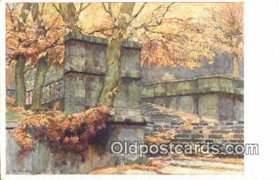 xrt286010 - Artist Karel Cerny Postcard Post Card Old Vintage Antique Series # 128-3
