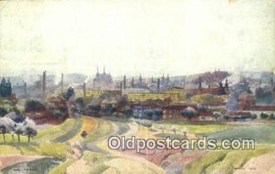 xrt286014 - Artist Karel Cerny Postcard Post Card Old Vintage Antique Series # 2093
