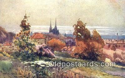 xrt286016 - Artist Karel Cerny Postcard Post Card Old Vintage Antique Series # 2097
