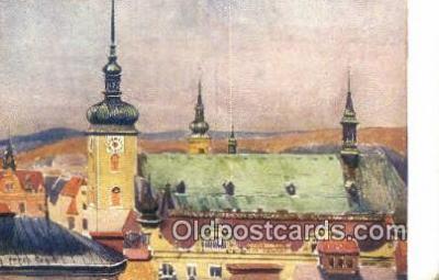 xrt286018 - Artist Karel Cerny Postcard Post Card Old Vintage Antique Series # 2099