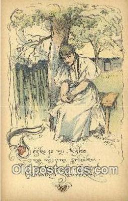 xrt287004 - Artist Cihelky Postcard Post Card Old Vintage Antique