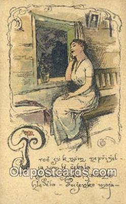 xrt287006 - Artist Cihelky Postcard Post Card Old Vintage Antique