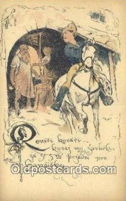 xrt287010 - Artist Cihelky Postcard Post Card Old Vintage Antique