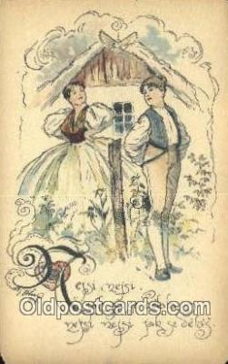 xrt287017 - Artist Cihelky Postcard Post Card Old Vintage Antique