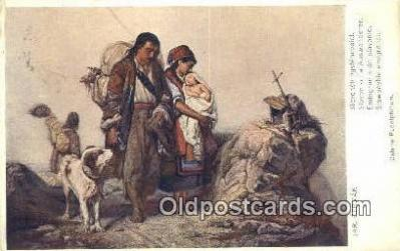 xrt288009 - Artist Jaroslav Cermak Postcard Post Card Old Vintage Antique Series # 1005