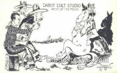 xrt291016 - Artist Cabot Colt Postcard Post Card Old Vintage Antique Series # W-14