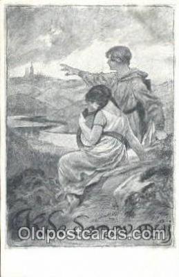 xrt292023 - Artist Oldrich Cihelka Postcard Post Card Old Vintage Antique Series # 0 1 5 1
