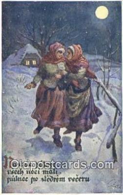 xrt293023 - Artist Vaclav Cutta Postcard Post Card Old Vintage Antique Series # 750-2