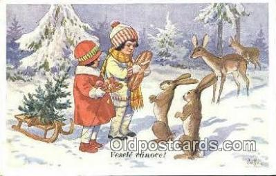 xrt293029 - Artist Vaclav Cutta Postcard Post Card Old Vintage Antique Series # 388-1