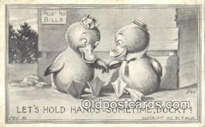xrt296008 - Artist F. Bluh, F & W Postcard Post Card Old Vintage Antique Series # 30