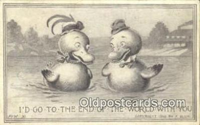 xrt296009 - Artist F. Bluh, F & W Postcard Post Card Old Vintage Antique Series # 30