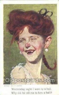 xrt297003 - Artist A. Baumann Postcard Post Card Old Vintage Antique