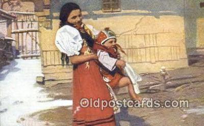 xrt299016 - Artist Douba, Joy Postcard Post Card Old Vintage Antique