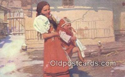 xrt299017 - Artist Douba, Joy Postcard Post Card Old Vintage Antique