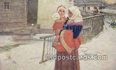 xrt299018 - Artist Douba, Joy Postcard Post Card Old Vintage Antique
