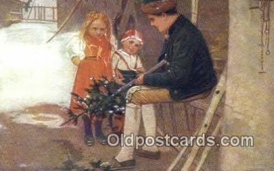 xrt299027 - Artist Douba, Joy Postcard Post Card Old Vintage Antique