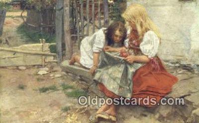 xrt299035 - Artist Douba, Joy Postcard Post Card Old Vintage Antique
