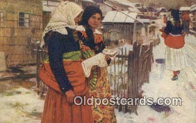 xrt299040 - Artist Douba, Joy Postcard Post Card Old Vintage Antique