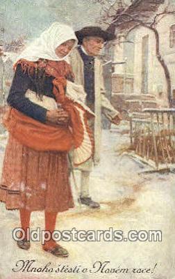 xrt299042 - Artist Joy Douba Postcard Post Card Old Vintage Antique