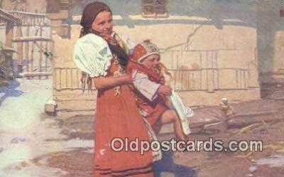 xrt299045 - Artist Joy Douba Postcard Post Card Old Vintage Antique