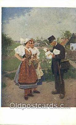 xrt299046 - Artist Joy Douba Postcard Post Card Old Vintage Antique