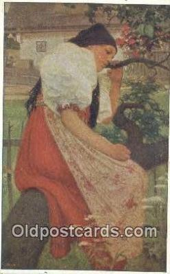 xrt299048 - Artist Joy Douba Postcard Post Card Old Vintage Antique