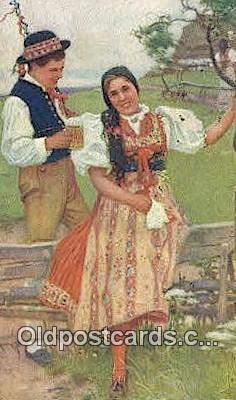 xrt299059 - Artist Joy Douba Post card Postcard Old Vintage Antique