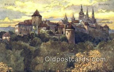 xrt301003 - Artist Engelmuller, F. Postcard, Praha, Prague, Czech Republic, Post Card, Old Vintage Antique