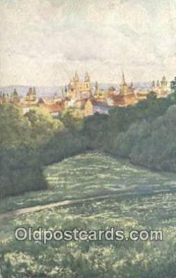xrt301024 - Artist Engelmuller, F. Postcard, Praha, Prague, Czech Republic, Post Card, Old Vintage Antique