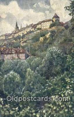 xrt301027 - Artist Engelmuller, F. Postcard, Praha, Prague, Czech Republic, Post Card, Old Vintage Antique