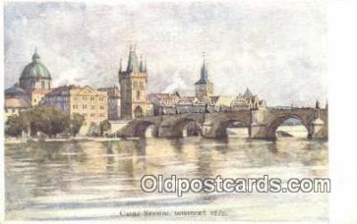 xrt301036 - Artist Engelmuller, F. Postcard, Praha, Prague, Czech Republic, Post Card, Old Vintage Antique