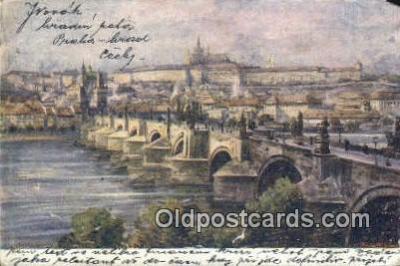 xrt301041 - Artist Engelmuller, F. Postcard, Praha, Prague, Czech Republic, Post Card, Old Vintage Antique