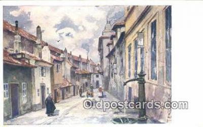 xrt301047 - Artist Engelmuller, F. Postcard, Praha, Prague, Czech Republic, Post Card, Old Vintage Antique