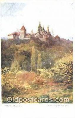xrt301053 - Artist Engelmuller, F. Postcard, Praha, Prague, Czech Republic, Post Card, Old Vintage Antique