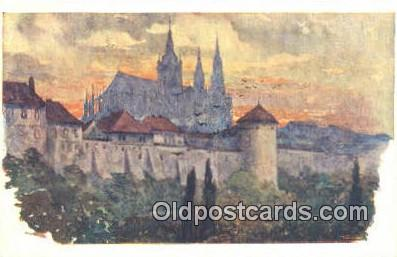 xrt301060 - Artist Engelmuller, F. Postcard, Praha, Prague, Czech Republic, Post Card, Old Vintage Antique
