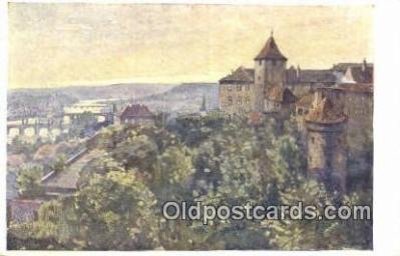 xrt301063 - Artist Engelmuller, F. Postcard, Praha, Prague, Czech Republic, Post Card, Old Vintage Antique