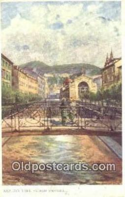 xrt301073 - Artist Engelmuller, F. Postcard, Praha, Prague, Czech Republic, Post Card, Old Vintage Antique