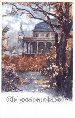 xrt301074 - Artist Engelmuller, F. Postcard, Praha, Prague, Czech Republic, Post Card, Old Vintage Antique